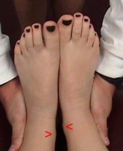 longeur de jambes