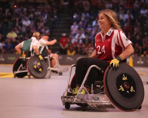 Les personnes handicapées moteur